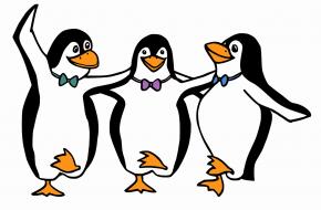 Pingwinkowo i zimowo! ;)