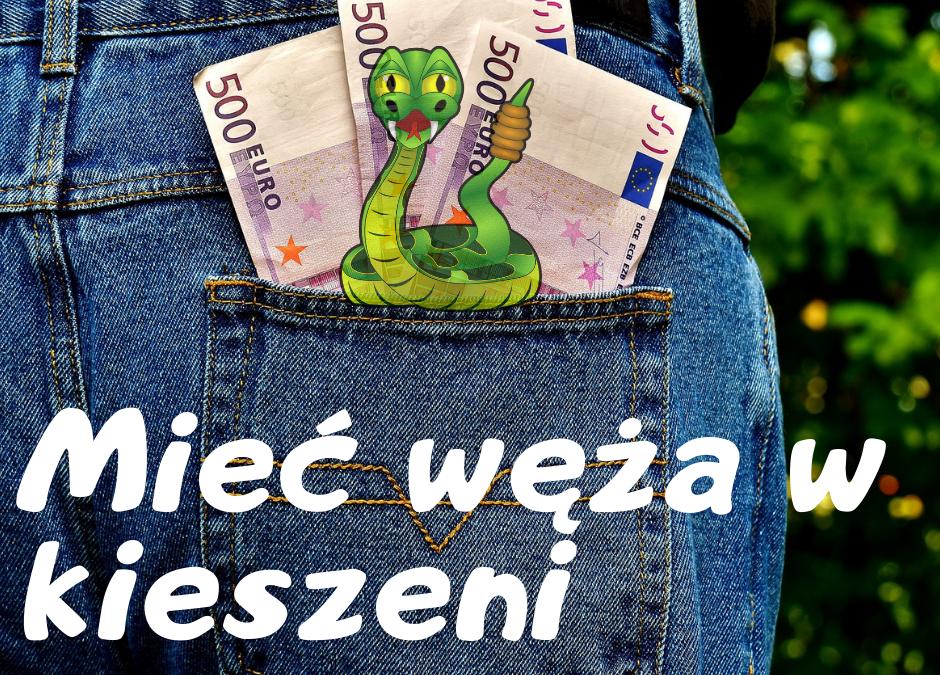 Mamy węża w kieszeni ;)